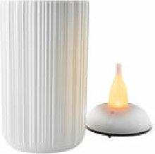 Photophore LED / H 13 cm - Eva Solo blanc en