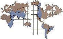 PIAOLIGN Décoration Murale Carte du Monde Art