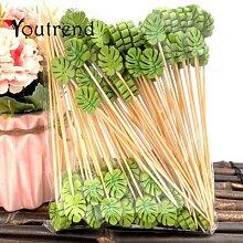 Pichet en forme de feuille de bambou, 100 pièces,