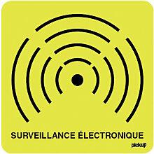 Pictogramme sécurité Surveillance électronique