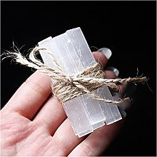 Pierre 10pcs chips naturels gypse blanc quartz