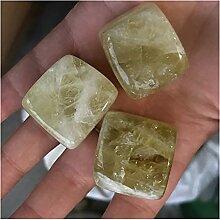 Pierre 3pcs pierres de cube cristal topaze