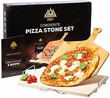 Pierre à pizza BKC pour four ou barbecue   Grande