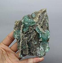 Pierre naturelle 263g fluorite vert fluorite vert