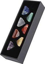 Pierres précieuses 7 cristaux Chakra pierres