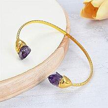 Pierres précieuses Bracelet de bracelet rugueux