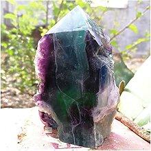 Pierres précieuses Cristaux de quartz de fluorite
