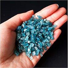 Pierres précieuses GEM 100G Natural Blue Apatite