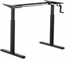 Piètement de bureau assis debout pied table