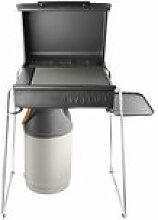 Piètement et tablette / Pour barbecue à gaz Box