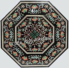 Pietra Dura Art Table de restaurant octogonale