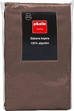 Pikolin Home - Drap de dessus, 100% coton, couleur