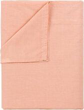 Pikolin Home - Drap de dessus, 100% coton couleur
