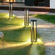 Pilier de lampe imperméable en aluminium,
