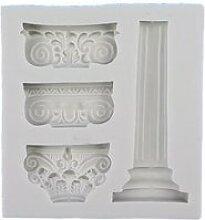 Pilier grec ancien moule colonne romaine moule