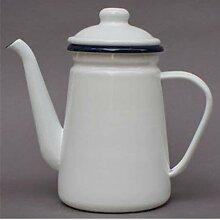 PINGS Bouilloire à thé en émail Vintage,
