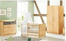 Pinolino chambre de bébé natura 3 pièces  lit