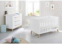 Pinolino Chambre en bois évolutive bébé enfant