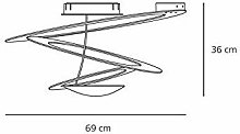 Pirce Mini Lampe Plafonnier - Artemide