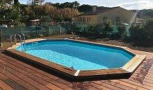 Piscine en bois design 300 x 490 - Sunwater