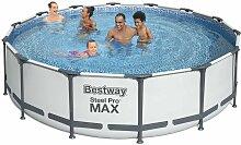 Piscine hors-sol Bestway 56950 Acier rond Pro Max