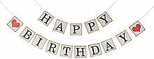 PIXNOR Décorations d'anniversaire Guirlande