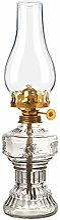 PIXNOR Vintage Lampe à Pétrole Rétro Verre