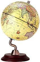 PJDOOJAE Globe antique avec arc antique en laiton