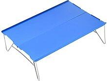 Pkfinrd Table pliante portable de camping en