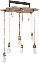 Plafond rétro pendule suspension lampe luminaire