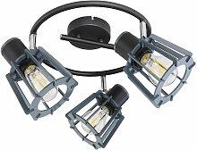Plafond rondelle lampe lampe éclairage salon
