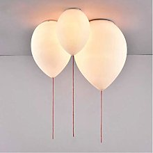 Plafonnier ballon blanc Simple belle plafonnier,