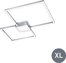 Plafonnier carré moderne en acier avec LED - Carpo