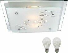 Plafonnier DEL couloir luminaire plafond LED lampe