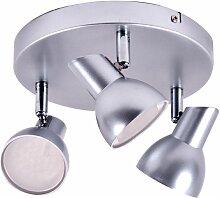 Plafonnier DEL métal luminaire plafond éclairage