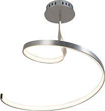 Plafonnier design acier LED incl.- Rizo