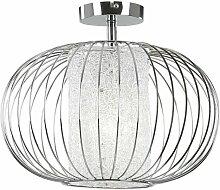 Plafonnier design cage spot lampe salon éclairage