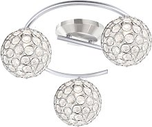 Plafonnier design cristal spot lampe boule spot