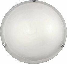 Plafonnier Éclairage circulaire 1X60W 400Mm White