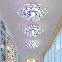 Plafonnier en cristal moderne lustre couloir salle