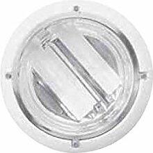 Plafonnier encastré Ø 230mm blanc 2X26W lampe