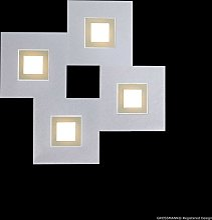 Plafonnier Karree 4 lampes carré (nacré)