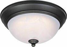Plafonnier Lampe LED Variable 28 cm Bronze et