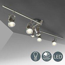 plafonnier LED 6 spots éclairage plafond design