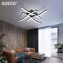 Plafonnier LED à intensité réglable en forme de