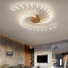 Plafonnier led au design moderne, éclairage