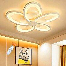 Plafonnier LED Creative Forme De Fleur Design