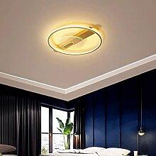 Plafonnier LED Design Double Cercle Lampe Couleur