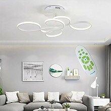 Plafonnier LED Dimmable avec restaurant courbé