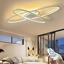 Plafonnier LED Dimmable Lampe Salon Moderne Avec